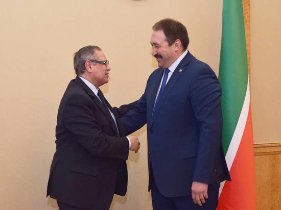 Татарстан иЕгипет хотят расширить сотрудничество