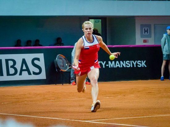 Первое очко в Кубке Федерации завоевала россиянка