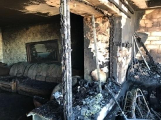В Татарстане во время пожара пострадал 14-летний подросток