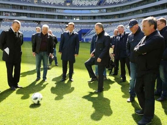 """Виталий Мутко: """"Самара Арена"""" будет одним из трех лучших стадионов ЧМ-2018"""""""