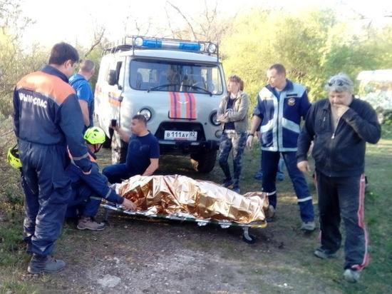 Под Симферополем 42-летний мужчина сорвался соскалы