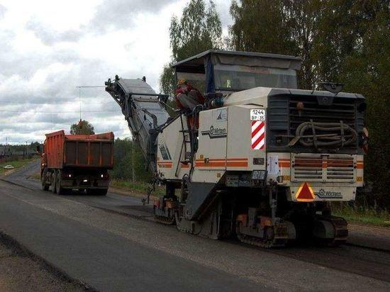 Федералы отремонтируют несколько участков трассы «Кострома-Шарья» в этом году