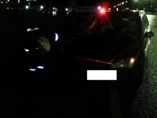 Водитель Форда сбил пешехода на калужской трассе