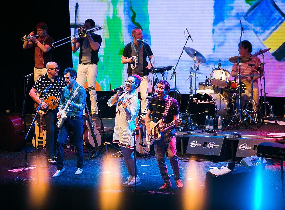Легендарная рок-группа Браво выступила с концертом в Москве