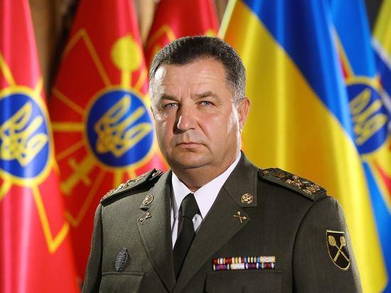 Министр обороны Украины подтвердил смену формата операции вДонбассе