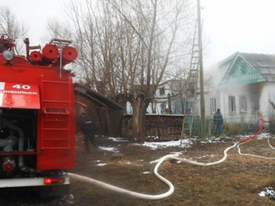 Оставленные без присмотра малыши пострадали при пожаре в Чувашии