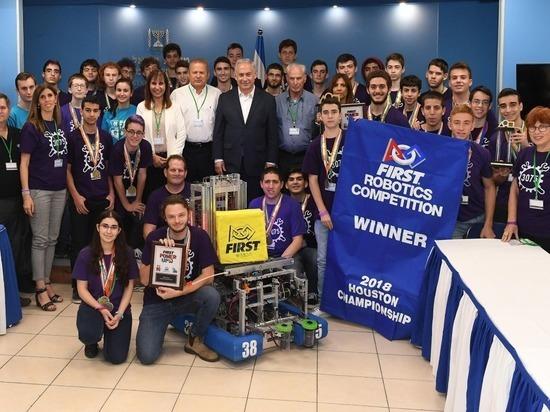 Израильская команда, заняла первое место на Международных соревнованиях по робототехнике