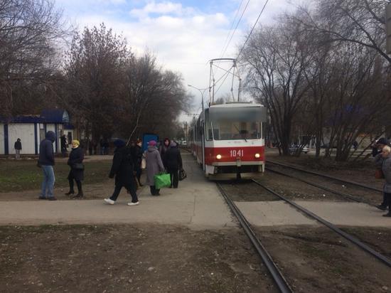 В Самаре трамвай наехал на женщину-пешехода