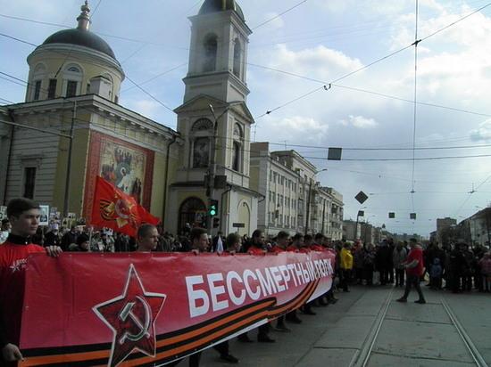 «Бессмертный полк» пройдёт по центральным улицам городов Тверской области