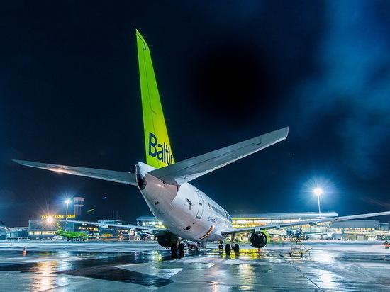 В Казани сегодня возобновлены рейсы до Риги
