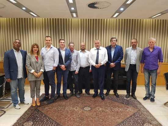 Авигдор Либерман встретился с бизнесменами – новыми репатриантами