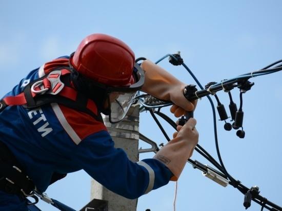 """Филиал """"Калугаэнерго"""" восстановил электроснабжение потребителей"""