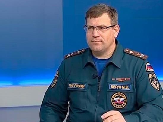 Глава томского МЧС Михаил Бегун повторил «подвиг» Игоря Митрофанова