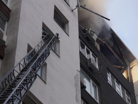 Взрыв газа ипожар вжилом доме вСамаре: имеется пострадавший