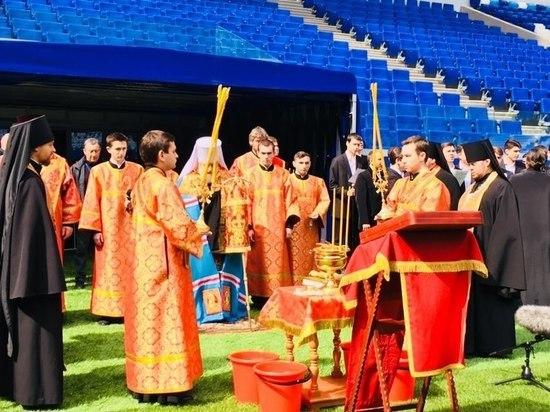 "Стадион ""Самара Арена"" освятили перед тестовым матчем"