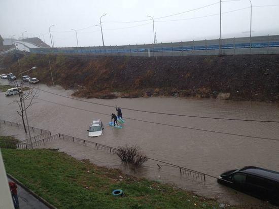 Шторм воВладивостоке приостановил работу морского прибрежного транспорта