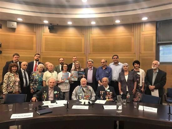 В Кнессете обсудили вопрос о включении темы Победы и героизма воинов-евреев в программы учебных заведений