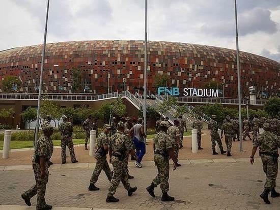 """Мордовия Арена"" - копия стадиона FNB Stadium в Йоханнесбурге"