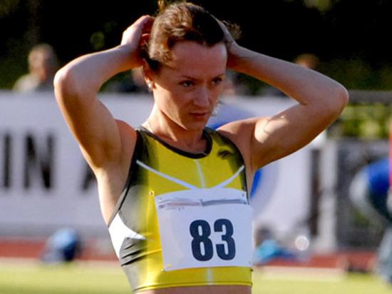 Русская легкоатлетка Слесаренко дисквалифицирована на 4 года задопинг