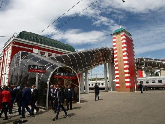 На станциях Саранск и Рузаевка открыли пешеходные мосты