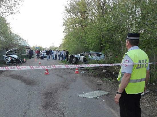 ВОренбургской области нетрезвый шофёр столкнулся смашиной ДПС