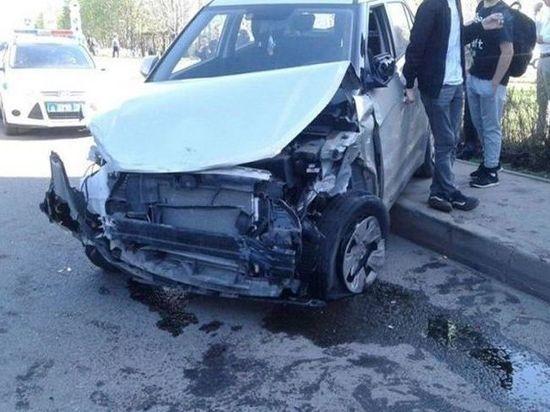 ВТатарстане шофёр протаранил 10 авто исбил женщину