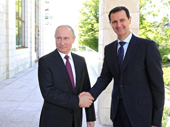 Путин иАсад встретились вСочи— основная встреча