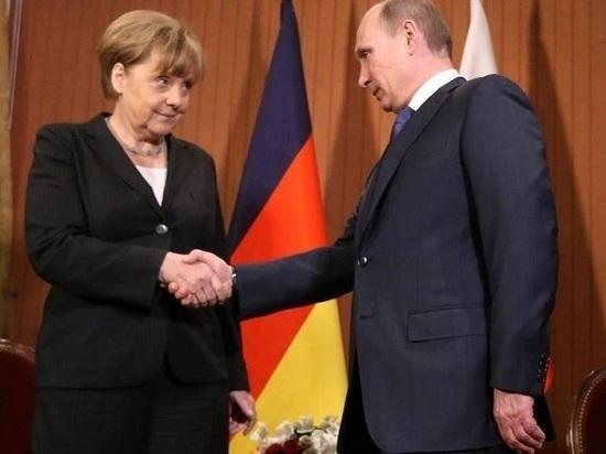 Путин дал понять Меркель, кто вдоме хозяин— германские СМИ