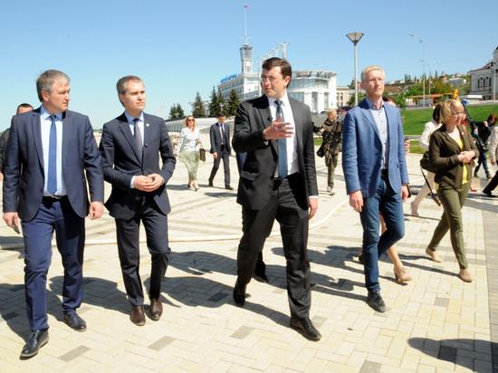 Нижневолжскую набережную планируется открыть 12 июня