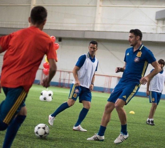 Звезда испанского футбола