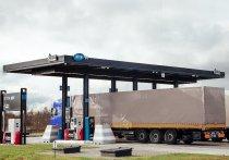 Оставайтесь в машине: водители-профессионалы платят за топливо онлайн