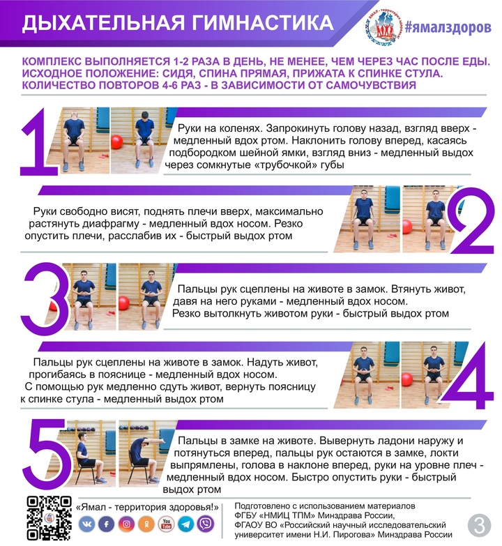 Дыхательная гимнастика при коронавирусе