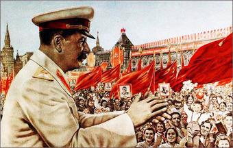 Портретам Сталина не место на улицах Москвы