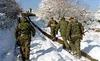 На границе Чечни и Дагестана погибли 5 полицейских, ещё 6 ранены.