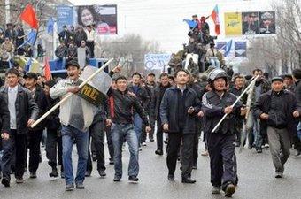 В Бишкеке начались русские погромы