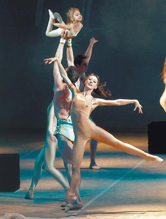 откровенные сцены с балеринами