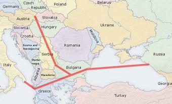 """От России пока не поступало официального запроса на присвоение газопроводу  """"Южный поток """" статуса европейского проекта..."""