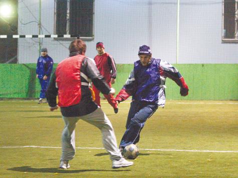 Борьба за каждый мяч