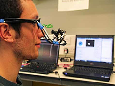Придумана клавиатура, которая печатает движением глаз