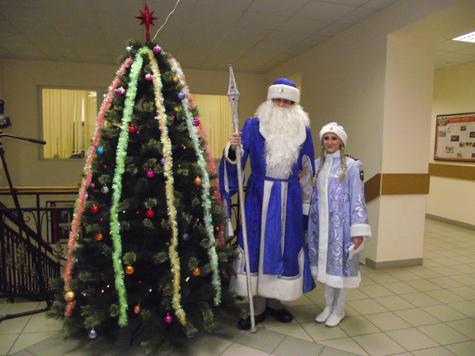 Хулиганов поздравили Деды Морозы в погонах