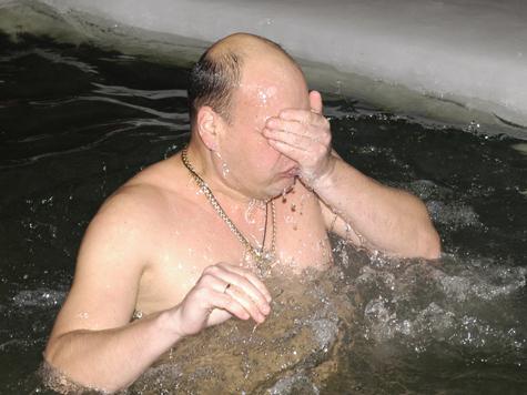 В Крещение моржам предложат принять ванну изо льда