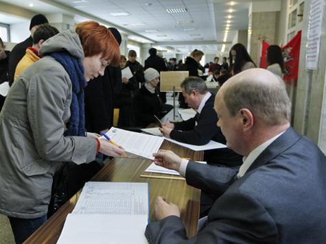 Путин оторвался от второго места на 46%