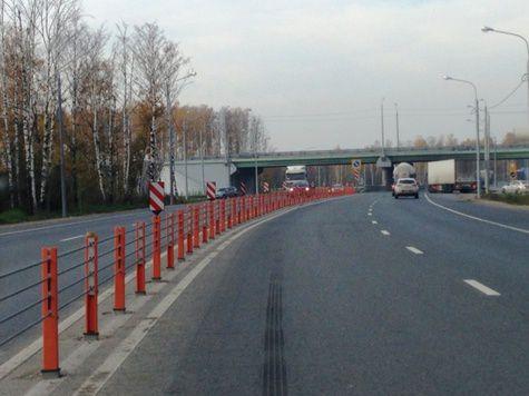 На трассе М7 испытывают новое ограждение - МК в Нижнем Новгороде МК