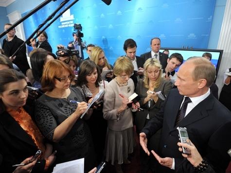 Путин пожалел, что не застал обнаженных активисток FEMEN