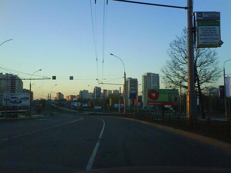 Скоро начнется реконструкция Рублевского шоссе
