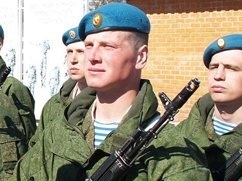 Десантники будут получать до 42 тысяч рублей