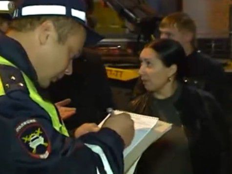 Жену Цапка задержали возле здания суда с ружьем