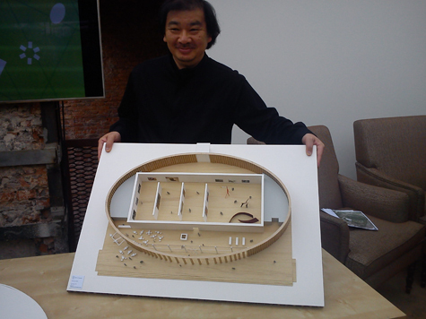 «Гараж» построят из картона