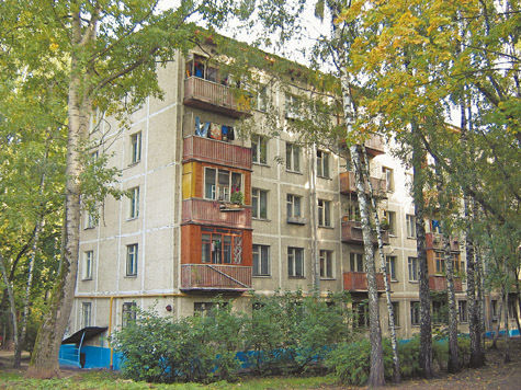 Хрущевки в Москве