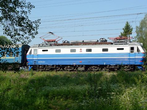 На праздники поездка на поезде